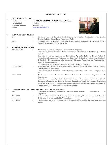 Modelo Curriculum Europeo Junta De Andalucia Curriculum Vitae