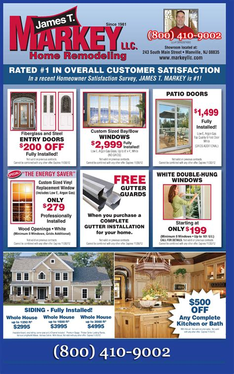 window replacement discount coupons markey window