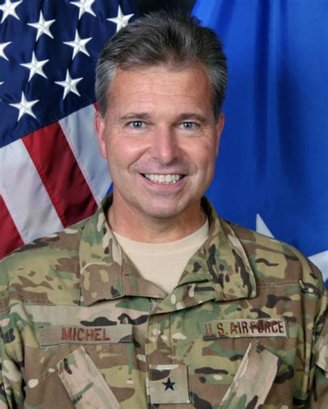 brigadier general john e michel gt u s air force