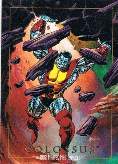 Kartu Marvel Masterpieces 94 Card 1992 skybox marvel masterpieces checklist set info