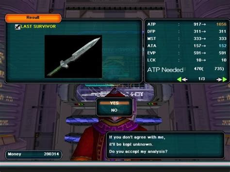 pso section id pso world com items last survivor