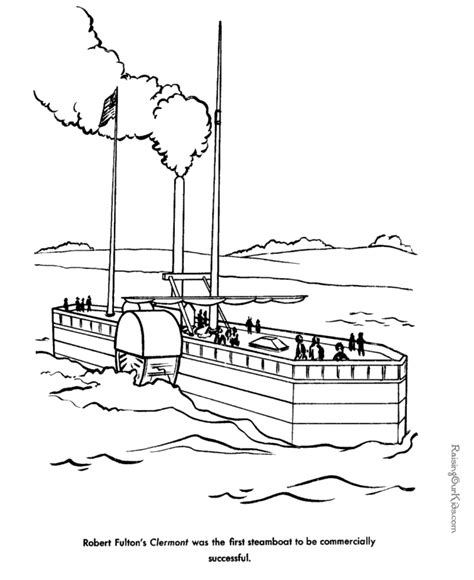 boat books steamboat coloring pages download and print for free