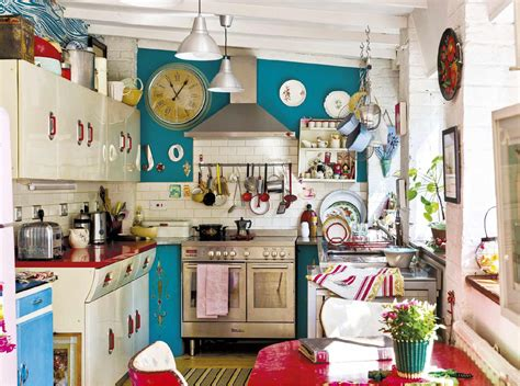 retro kitchen decor how to give your old kitchen a new look on a budget
