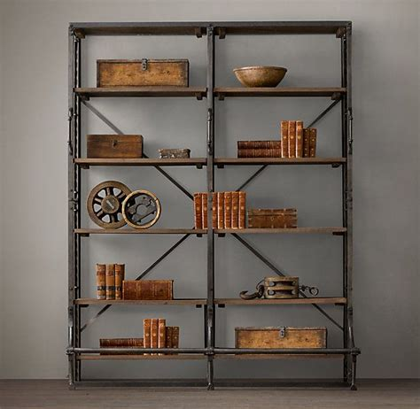 library bookcase wall unit restoration hardware 50 best images about bookcases on pinterest dutch