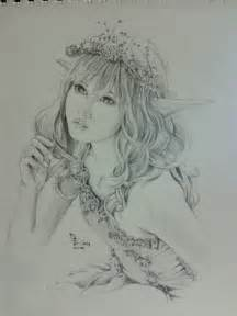 Fairy drawings in pencil pencil sketches of fairies and
