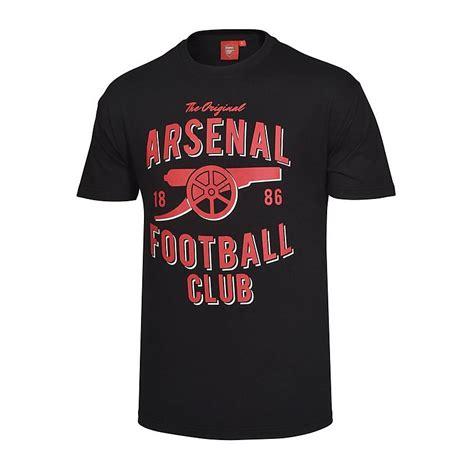 Tshirt Arsenal 1 arsenal vintage black t shirt official store