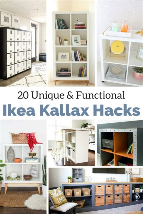 top ikea hacks the best ikea kallax hacks and 20 different ways to use them