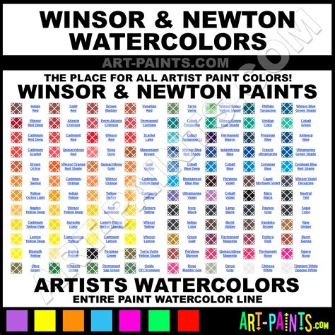 winsor and newton artists watercolor paint colors winsor and newton artists paint colors