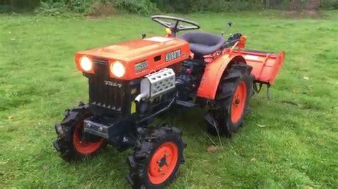 garten zu verkaufen kubota b5000 4wd compact tractor with rotavator for sale