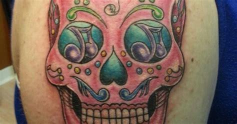 iron lotus tattoo gainesville music sugar skull tattoo by jeremiah klein at iron lotus