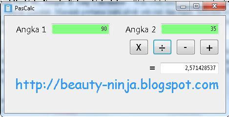 calculator kuadrat download pascalc simple tiny calculator beauty ninja