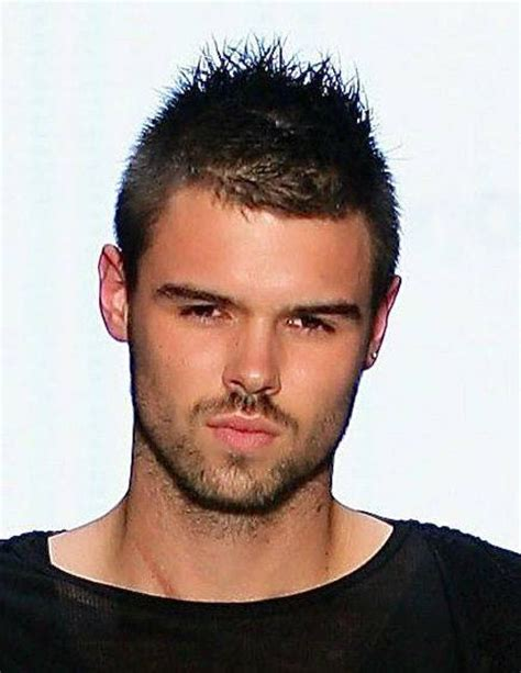 hairstyles for men short top spiky and longer back 22 most attractive short spiky hairstyles for men in 2017