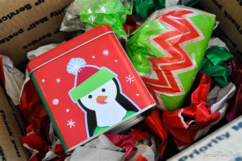 how to mail cookies without packing peanuts