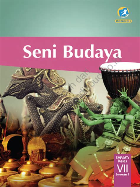 Seni Budaya Untuk Smp Kls Vlll Semester 1 ilmu matematika buku seni budaya kelas 7 kurikulum
