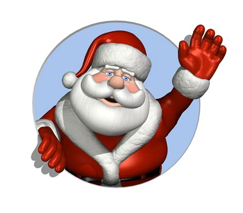 moving santa claus interactive media rich media design productions