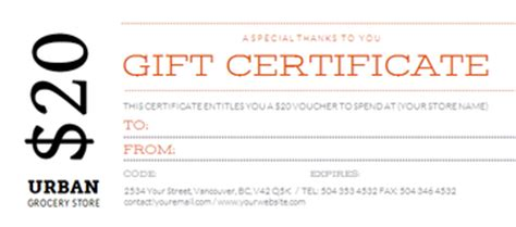 food gift certificate template search results for food certificate of appreciation