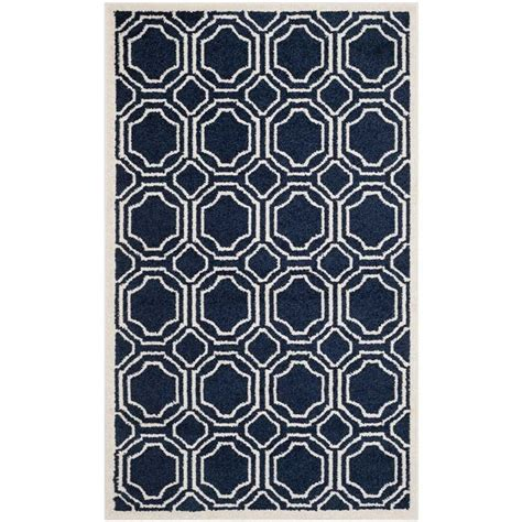 3 X 5 Outdoor Rug Safavieh Amherst Navy Indoor Outdoor Rug 3 X 5 Amt411p 3