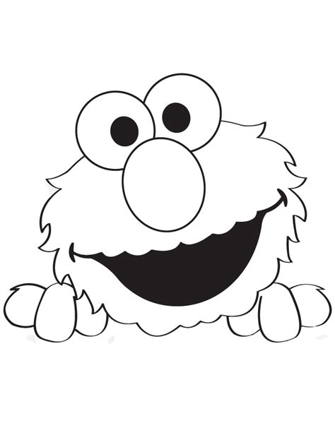 elmo template free coloring pages of elmo stencil