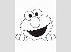 Elmo Face Coloring Page - Coloring Home Elmo Face Coloring Page