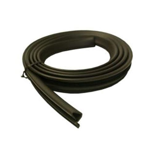 84 in platinum brown collection door weatherstrip