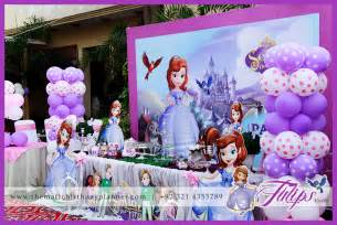 Sofia the first girls party theme ideas in lahore pakistan 34