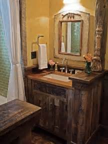 Small Rustic Bathroom Vanity Love The Small Rustic Vanity Rustic Pinterest