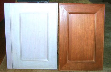 refinishing kitchen cabinet doors before after refinishing morin s fine furniture