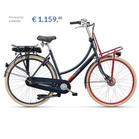 E Bike Transportfiets by Elektrische Fiets Batavus Cnctd Kopen Goedkope E Bike