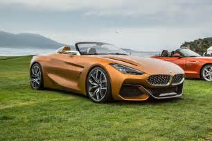 Concept Bmw Hello Beautiful Bmw Concept Z4 Unveiled In Monterey