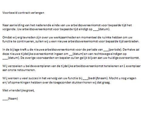 Bedankbrief Voorbeeld Samenwerking contract verlengen