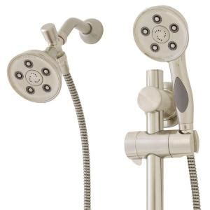 Shower Heads Home Depot by Speakman Anystream Caspian 9 Spray Shower And Shower
