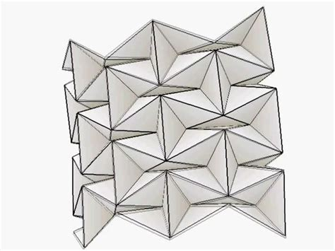 Origami Folding Patterns - 17 best images about origami tessellation on