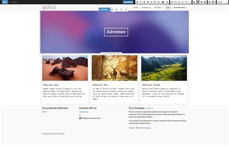 tutorial odoo website tutorial responsive design workflow in odoo bloopark