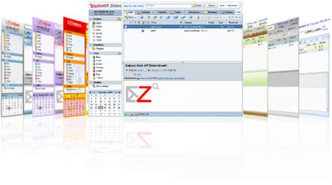themes zimbra desktop vmware unveils zimbra 7 server virtualization