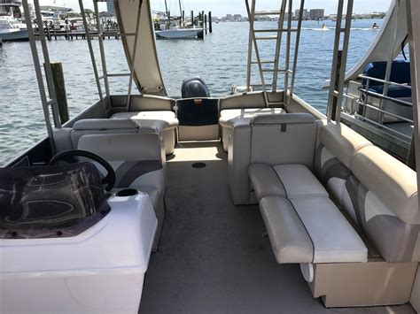 luxury pontoon boats with slide destin boat rentals rates voted best on the emerald coast