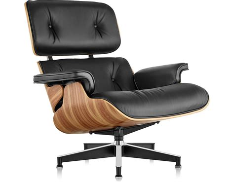 The Eames Lounge Chair by Eames 174 Lounge Chair Without Ottoman Hivemodern