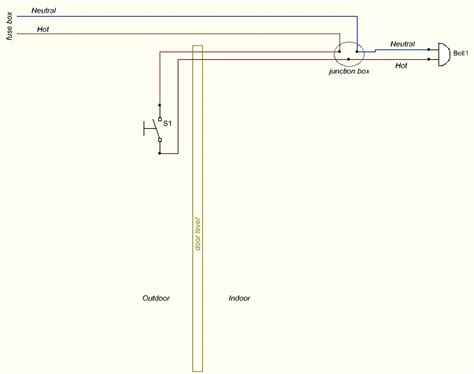 door chime wiring circuit diagram get free image about