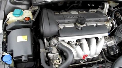 how do cars engines work 1998 volvo v70 auto manual volvo v70 2001 b5244s2 5 cylinder engine under the hood running idle youtube