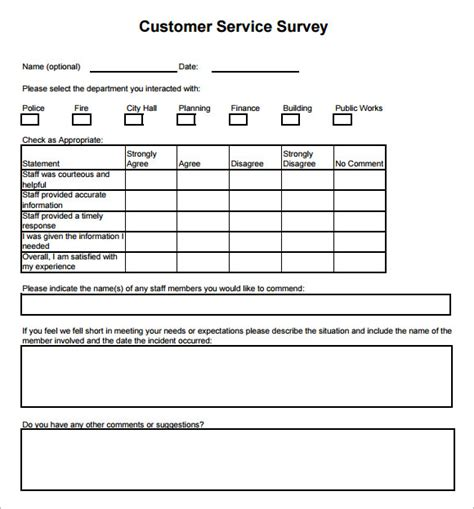 survey html template 28 customer survey template free sle customer