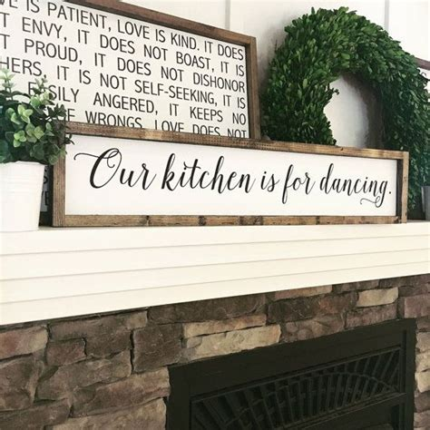 wooden signs for home decor best 25 kitchen signs ideas on kitchen