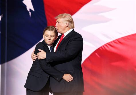 Donald Trump Son | donald trump s youngest son has priceless reaction to his