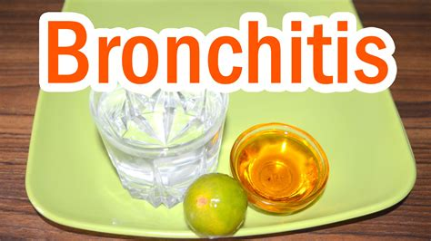 home remedy for bronchitis