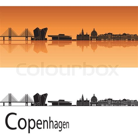 tattoo prices copenhagen copenhagen skyline stock vector colourbox