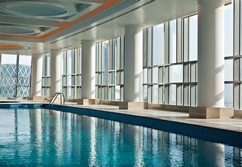 indoor pool marriott marquis city center doha hotel