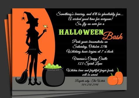 design halloween party invitation card halloween party invitation ideas party invitations templates