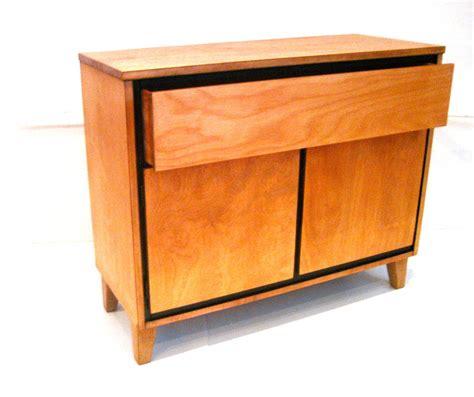 russel wright american modern furniture american modern russel wright small hutch for conant at 1stdibs