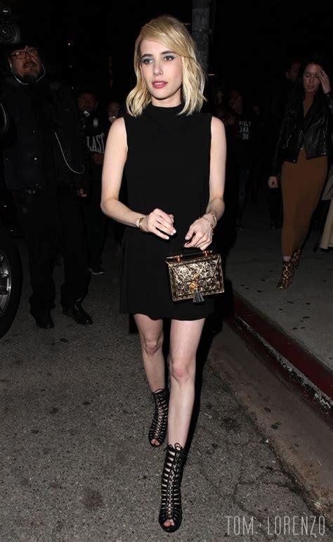 Style Double Shot: Emma Roberts   Tom   Lorenzo