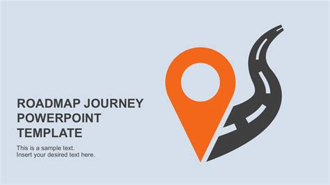 powerpoint templates for journey roadmap journey powerpoint template
