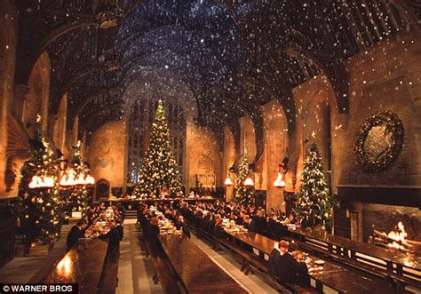 the great harry potter harry potter experience in this with dinner at hogwarts daily mail