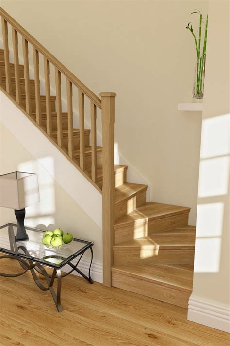 oak stair cladding traditional staircase